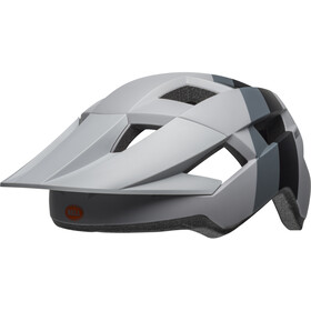 Bell Spark Kask rowerowy, downdraft matte gray/orange uni